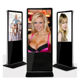 Electronic Digital Monitor Vertical LCD Screens TV Stand Alone Advertising Display