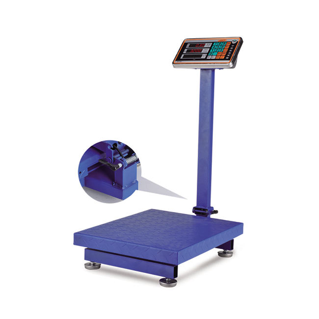 300kg Platform Scales Weighing Scale Calibration Of Tcs Platform Scale