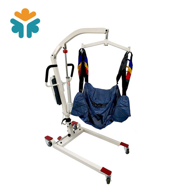 Home care medical patient hoist adjustable electric patient lifter