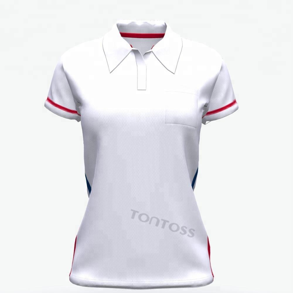 도매 Hot Sale custom all 넘 print women's polo shirt
