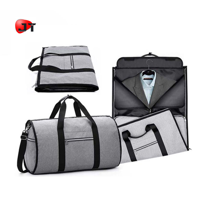 Large Capacity Mens Holdall Travel Foldable Hangeroo Garment Storage Duffel Bag For Suit