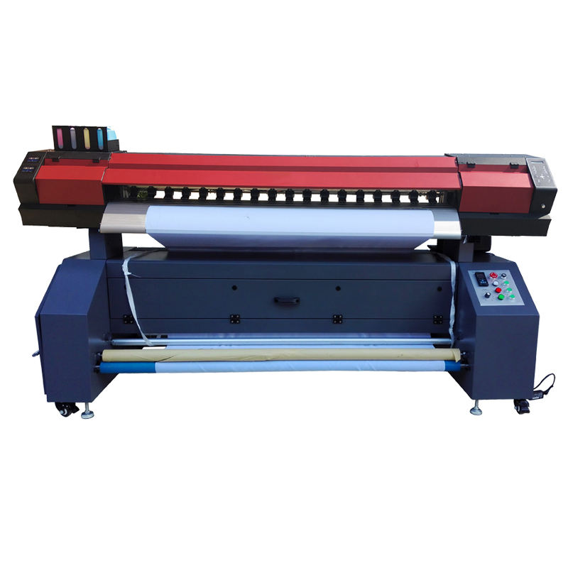 1440dpi Cotton Polyester Flag Digital Direct Sublimation Textile Printing Machine