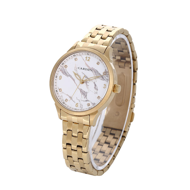 Carisen Chronograph 2019 New Design Best Selling Ladies Quartz Watch