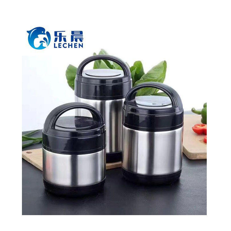 High Quality Stainless Steel Cookware Insulated Handle Lunch Box Set Stock Pot