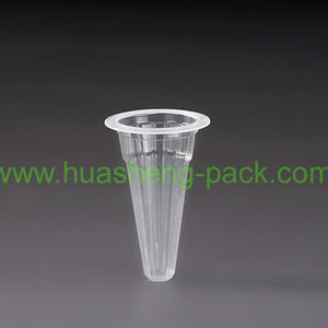 21ml disposable cone shape pp jelly cup