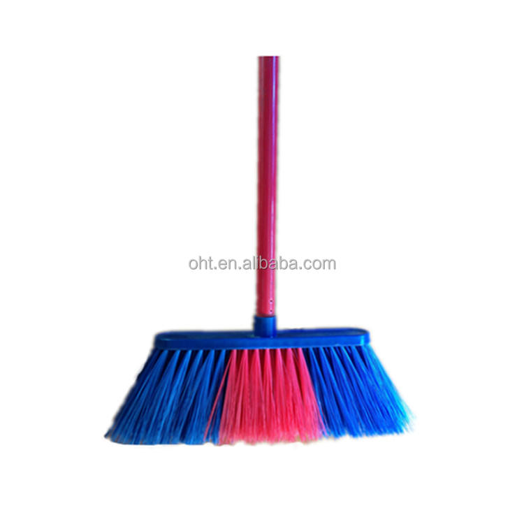 601M plastic indoor cleaning broom from manufacturer