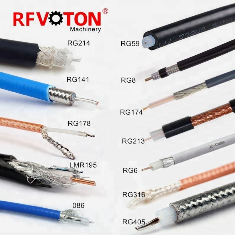 Best Price RG59 2C Cable RG6 RG58 3C-2V 5C2V RJ59 Coaxial Cable RG59 With Power Siamese CCTV Cable RoHS CE