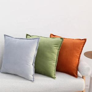 Velvet Decorative Pillows Sofa Waist Throw Cushion Cover 45x45cm Home Decor Pillow Covers For Sofa On Sale Price 18x18