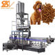 China factory direct supply fully-automatic dry kibble snack pet food processing line