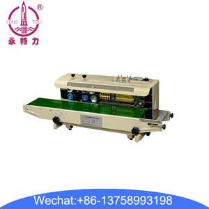 FR-900 automatic sealing machine Continuous Band Sealer for PP PVC foil bag