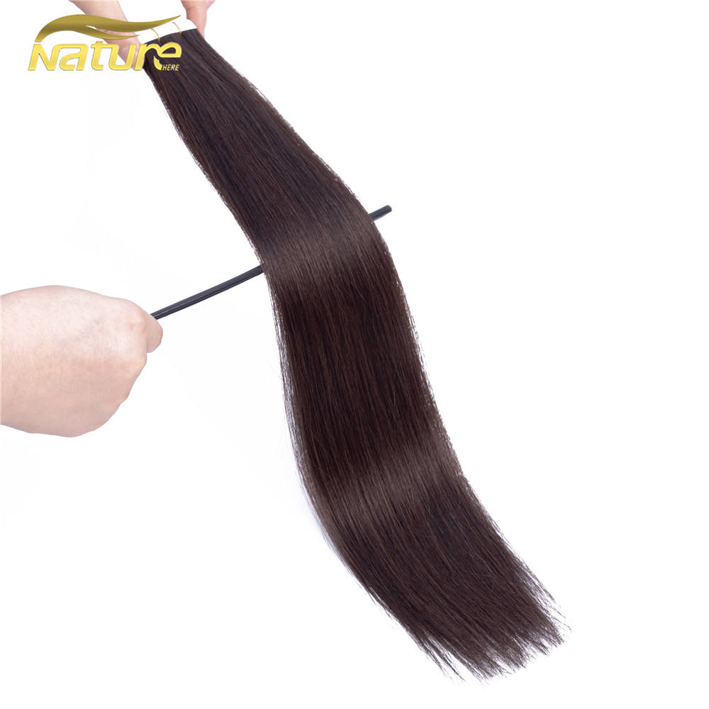 Human Pink Weave Bundles Japanese Hair Extensions