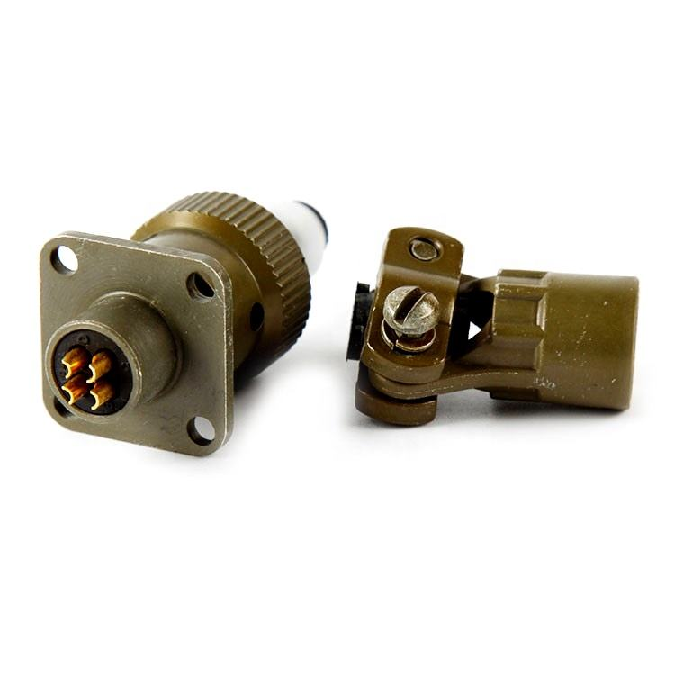 Ms3106f8-4p 4 Pin Military Connector 26482 Standards
