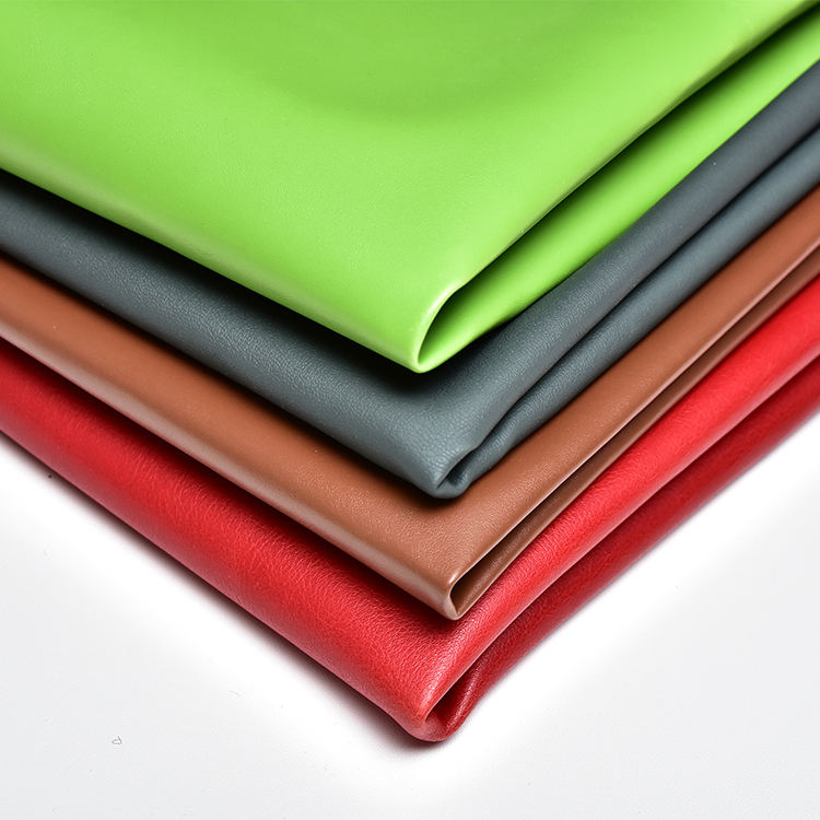 Ecofriendly Artificial Leather Fabric Pvc Imitation Faux Synthetic Vegan Pvc Pu Leather