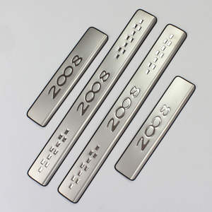 stainless steel scuff plate OEM car door sill door sill plate