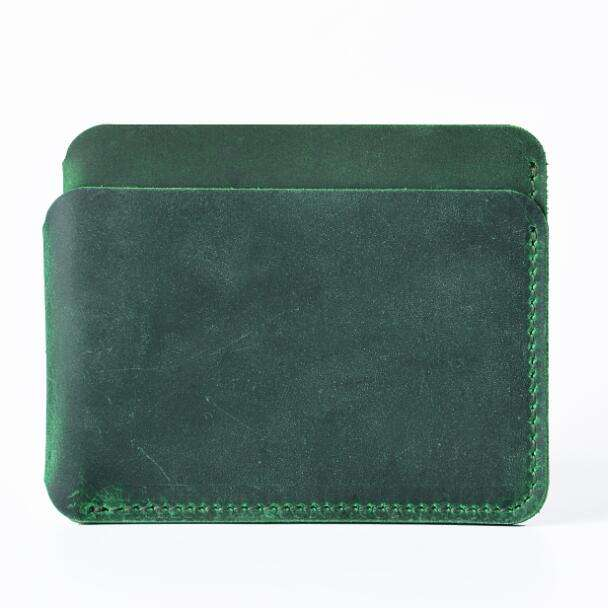 Best quality 결 톱 정품 탄 leather business 신용 gift card sleeve