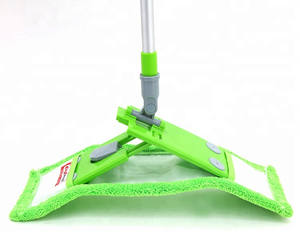 easy cleaning aluminum microfiber mop green Cleaning floor mop cotton mop yarn house cleaning products tools