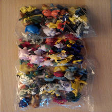 144 pcs Pikachu Pokemon action figures 2-3 cm for worldwide robot toys figure