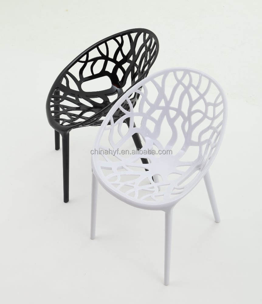 Hot sale High quality Plastic vegetal dinning chair PC-104A