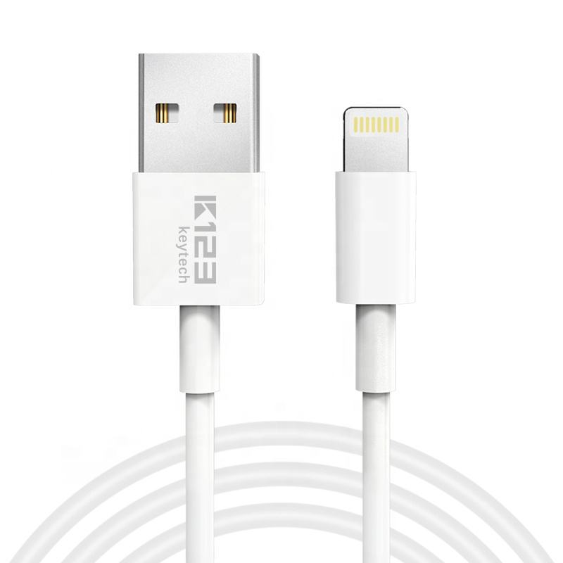 ABS Shell with TPE Material MFi certified fast charger flex for iphone USB cable