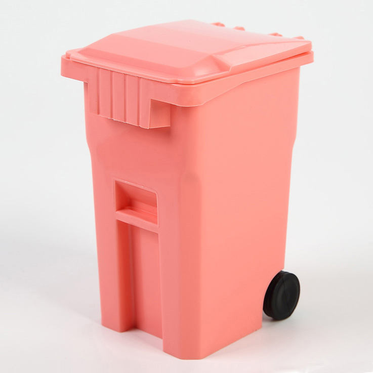 Wholesale Plastic Mini Plastic Dustbin, Mini Trash Can/