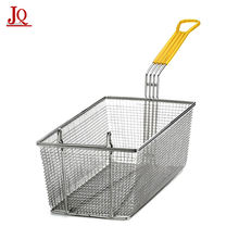 Restaurant Iron Wire Mesh Deep Fat Fryer French Fries Holder Basket Fat Fryer Basket