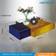 Modern Designs Colourful Acrylic Coffee Table with Drawer Acrylic furniture wholesale