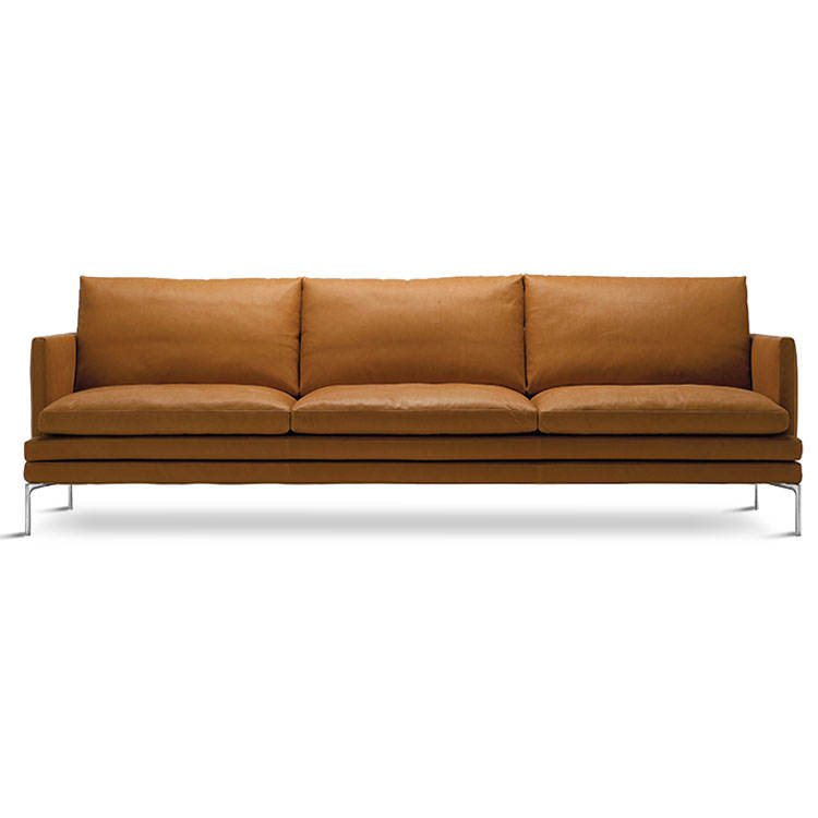 superb used happy yellow leather sofa set living room furniture living room Italian Nordic luxury modern leather sofa