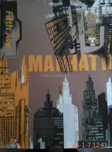 Manhattan design print