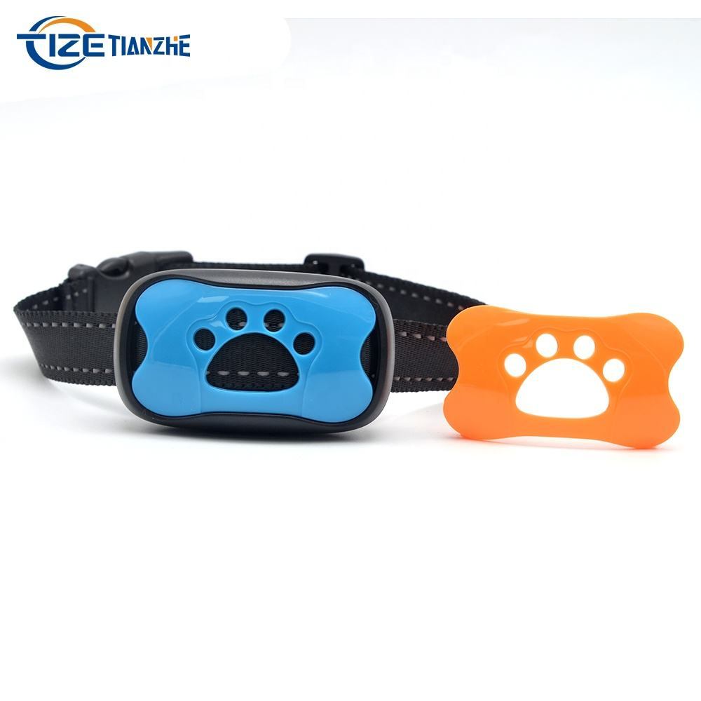 Hot Sale Small Lightweight Colorful Anti Bark Collar for All Size Dogs and Cats Waterproof Electronic Stop Barking Device