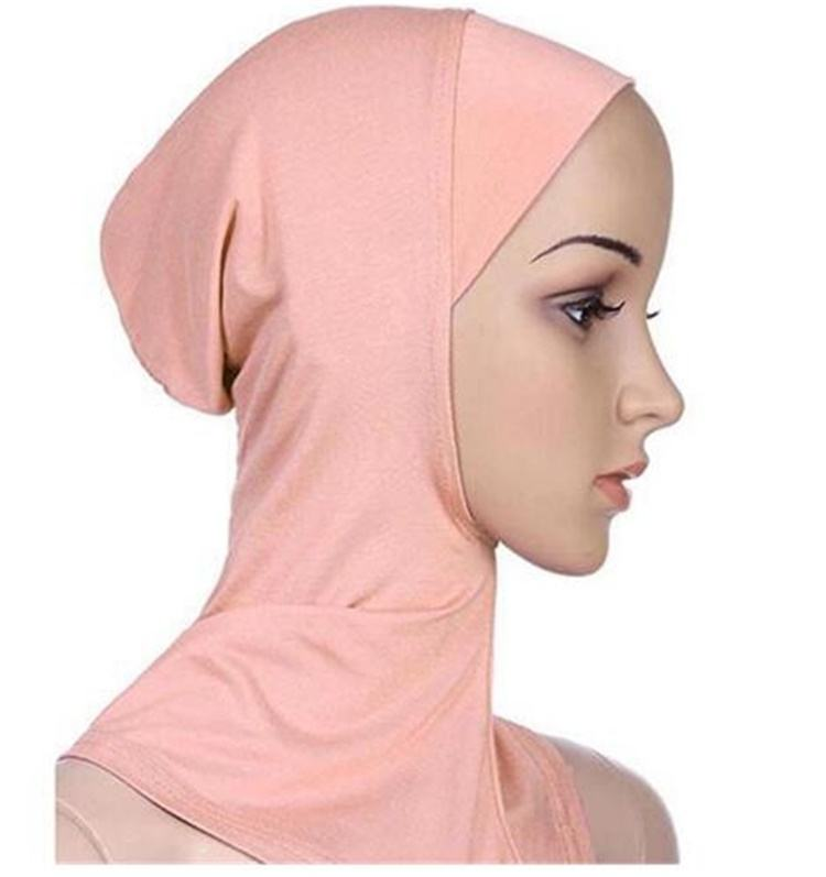 Modal Soft Muslim Full Cover Inner Women Hijab bonnet Cap Islamic Underscarf Neck Head Bonnet Hat