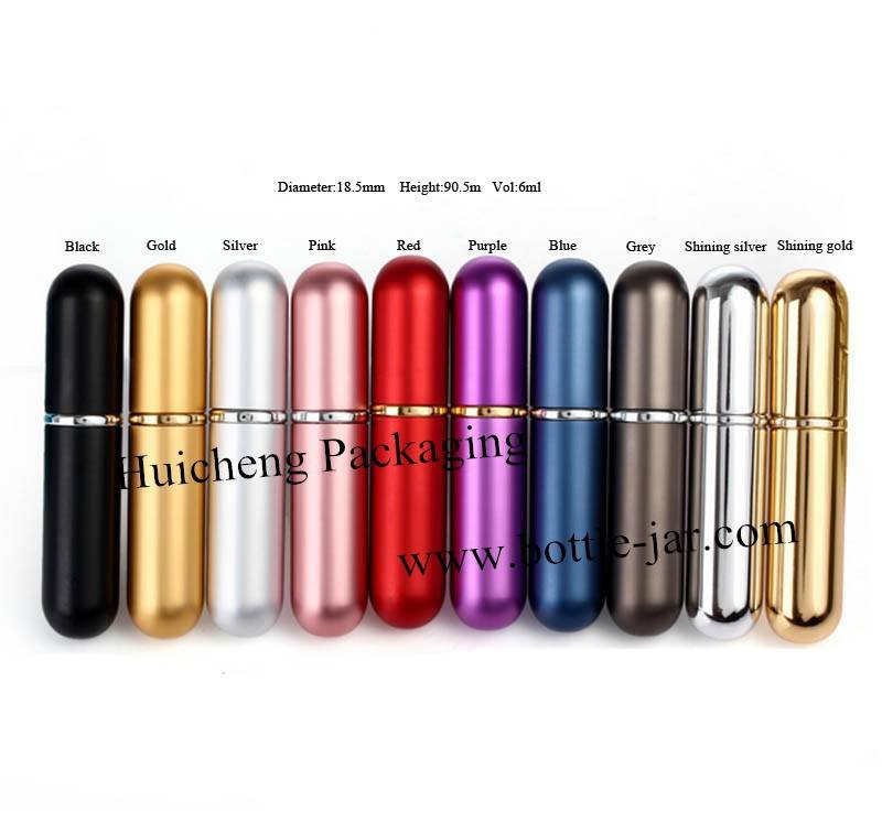 Small Refillable perfume atomizer 6ml travel size