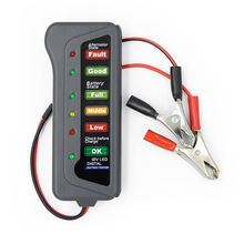 Best Price Car Battery Tester Analyzer 12V Battery Tester Car battery with 6 LED Light