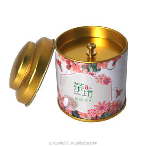 factory custom printed tea metal tin box