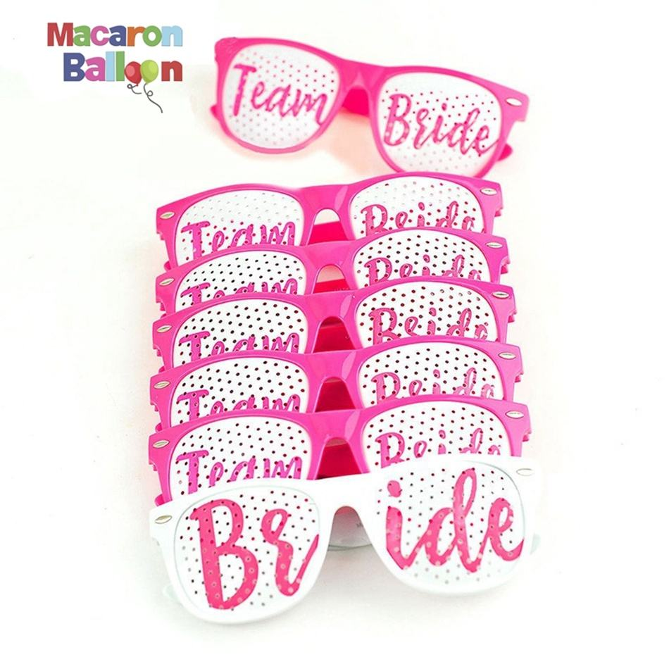 Hen Party Bridal Shower Bachelorette Party Glasses Bride To Be Sunglasses Wedding Decoration SD613