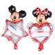 Wholesale Mini Minnie mickey mouse Foil Balloons decoration child Celebration birthday Balloon party supplies