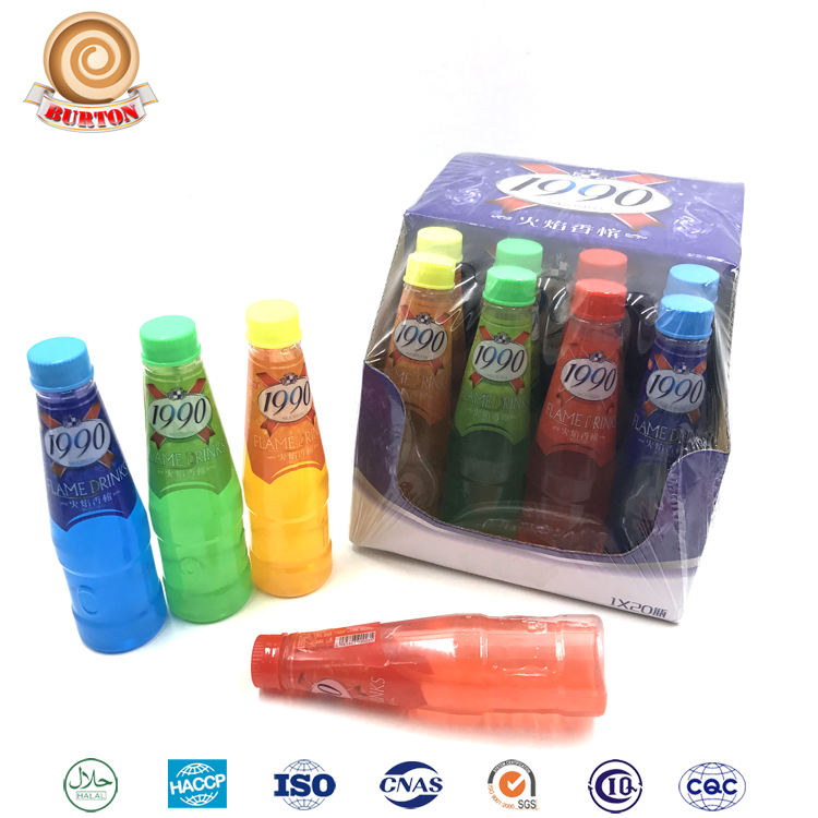 New cheap 4 in 1 flame fruity juice drinking soft drink