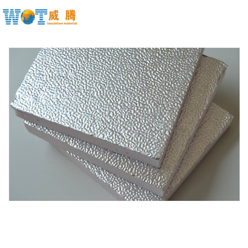 fire resistant embossed aluminum foil XPS polystyrene expanded board Foam Duct sheet Panel