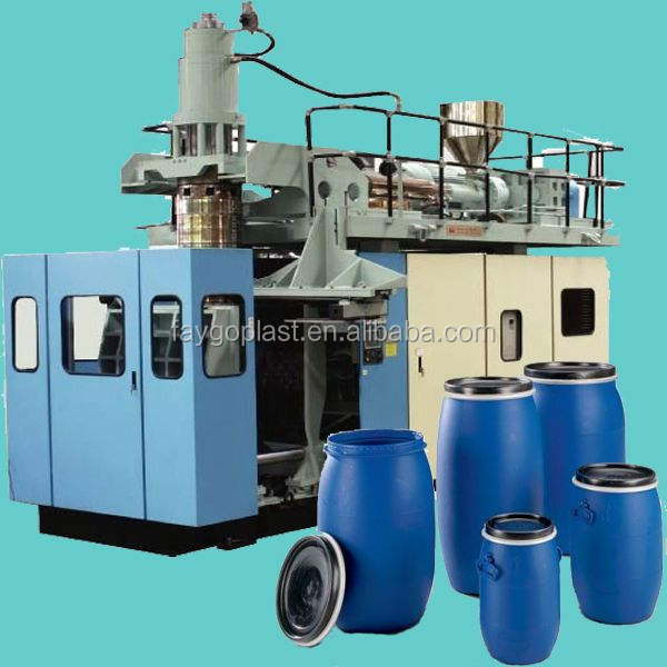 Automatic extrusion blow molding machine drum/bottle blow moulding machine plastic barrel making machine