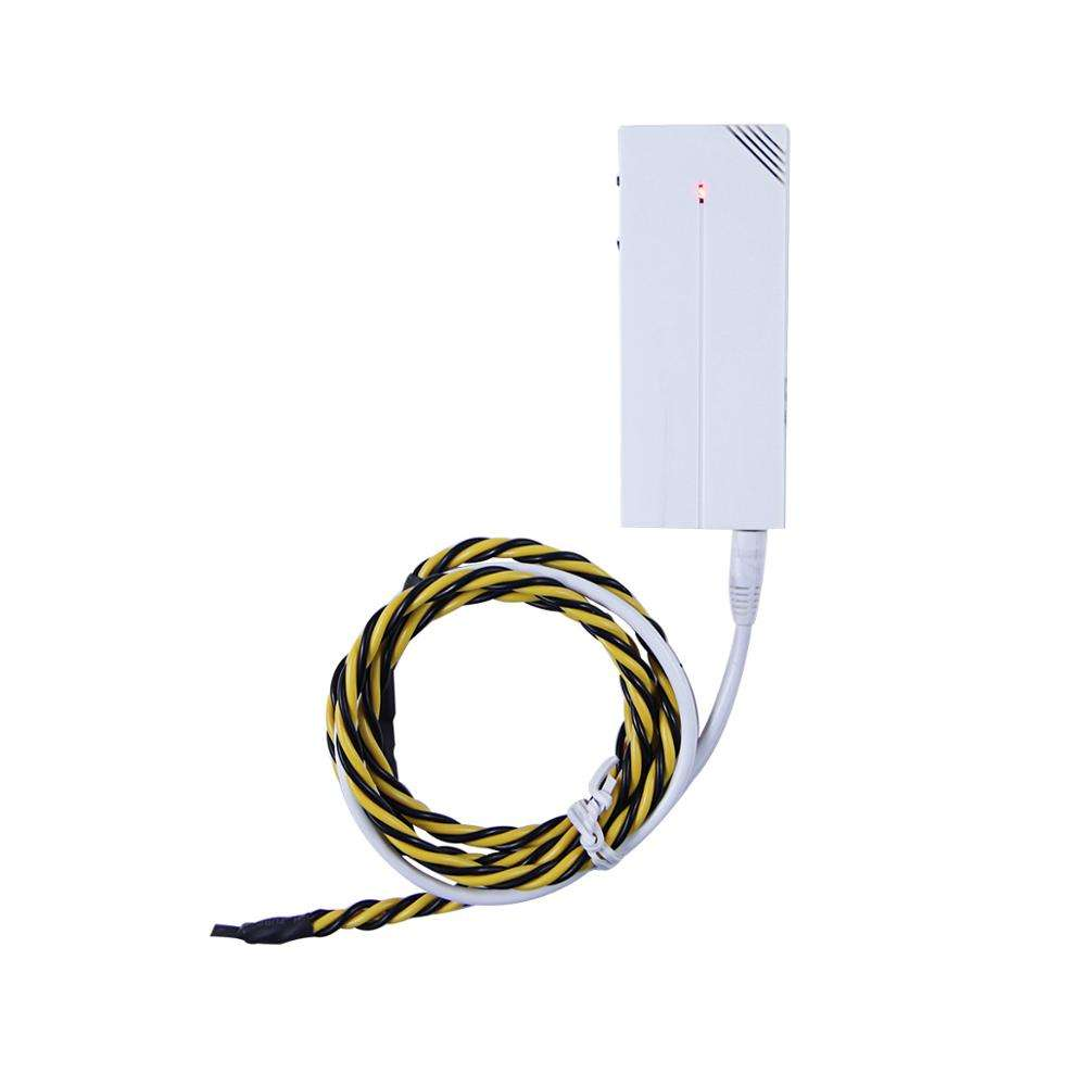 433mhz Wireless Water Leak Sensor Transmitter Flood Detector for SMS GSM Water Leak Detection System