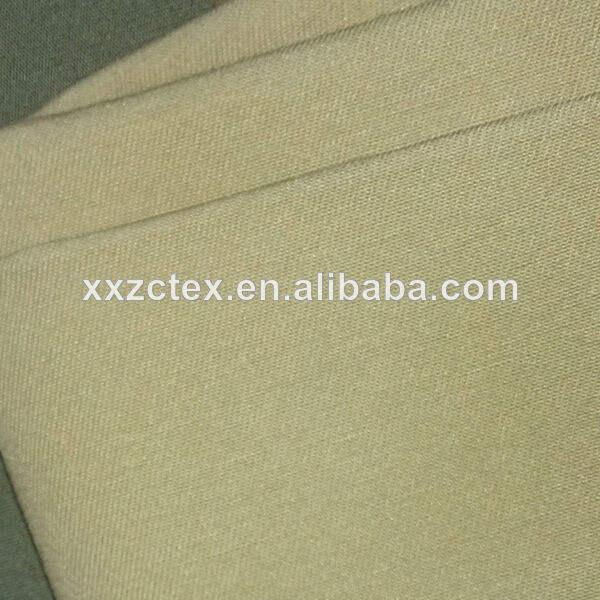 vente en gros tc coton et polyester tissé tissu peigné teints pour le vêtement