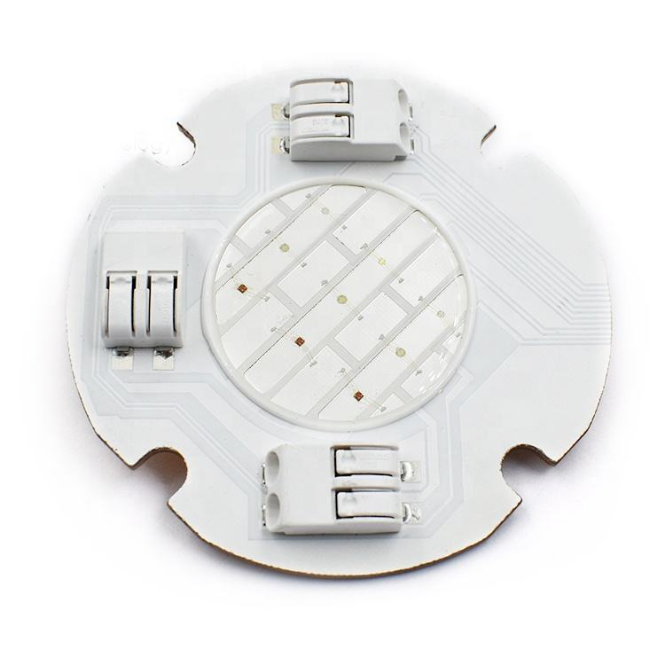 COB new product 55mm diameter led chip cheap price 12v dc 10W greenhouse plant lamp rgb led cob chip for grow lights