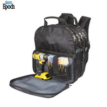 Heavy duty multifunction portable electrician tool carry bag toolkit backpack