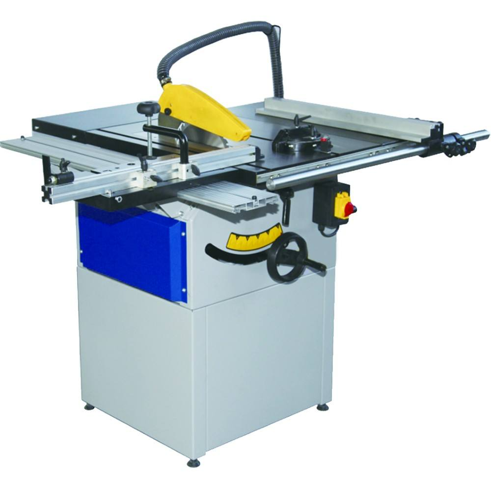 woodworking cutting machine item TS250 1.1kw compact sliding table saw