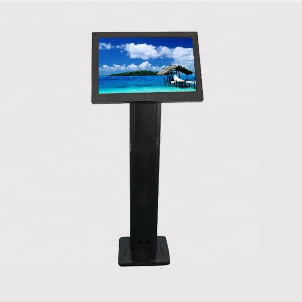 15 inch touch advertising kiosk media player hd for pc floor standing tv all in one pc