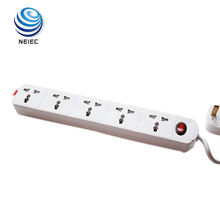extension cord UK Socket 3 Pin British 5 plug extension board