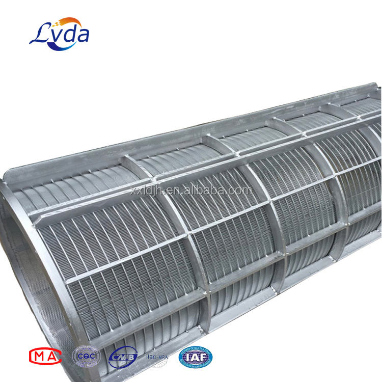 2018 hot sell stainless steel wedge wire screen