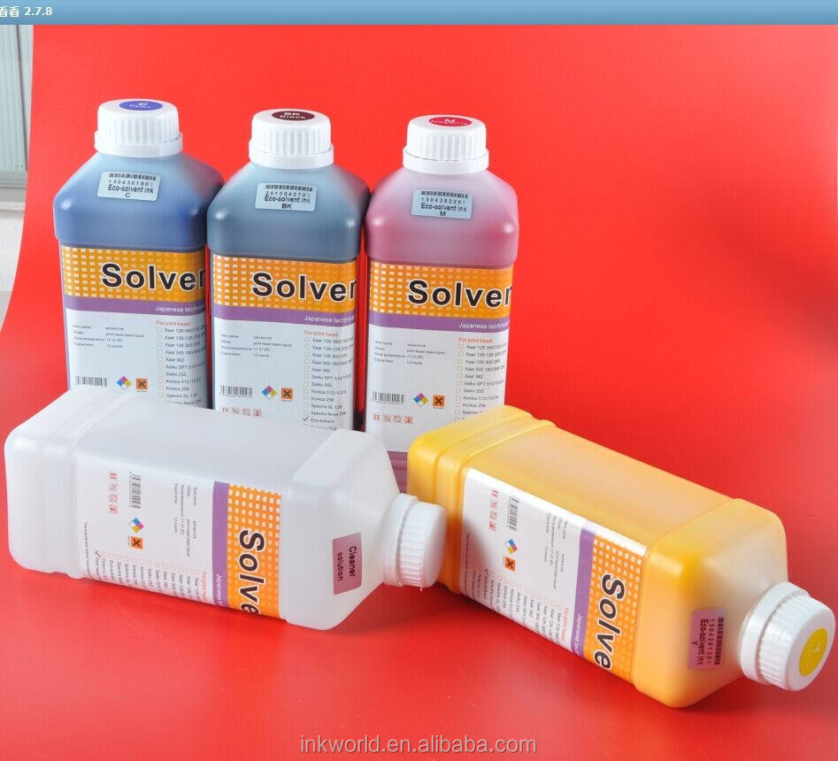 mimaki jv3 130spii eco solvent ink 1000cc use for the Mimaki printer