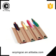Customized DIY color filling creative cardboard paper pencil for kids packaging boxes
