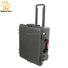 Ningbo factory High-end PP Material Hard  Case Plastic Case for Medical equipment with wheels