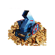 rongchang small cheap factory direct sale mobile wood chipper shredder mulcher drum with the belt conveyor mini wooden hammers
